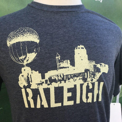 Raleigh NC Acorn Skyline Shirt- Mens SHIRT HOUSE OF SWANK