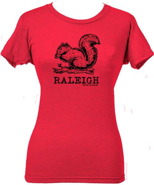 Raleigh Squirrel shirt- Women SHIRT HOUSE OF SWANK