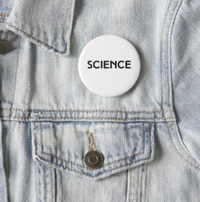 SCIENCE Pinback Button ACCESSORIES House of Swank