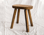 French Wood Stool