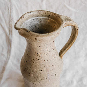 Tall Speckled Pitcher