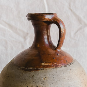 Extra Large Stoneware Vessel with Spout