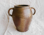 Two Handled Stoneware Vase