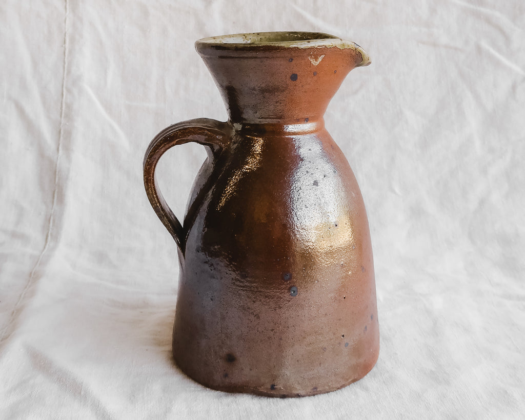 Speckled Inside Stoneware Pitcher
