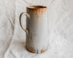 Glazed Pitcher with Drips