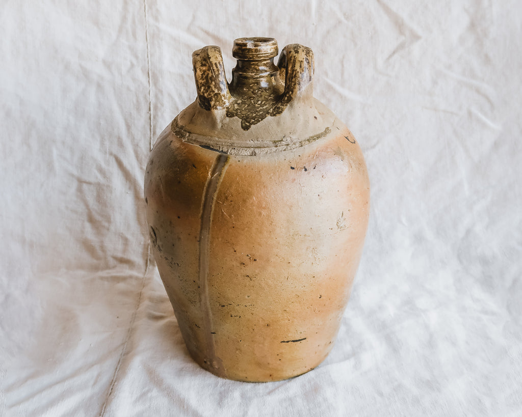 Vintage French Stoneware Vessel