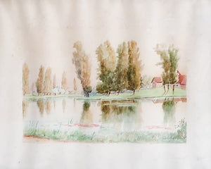 Reflected Laurels Painting