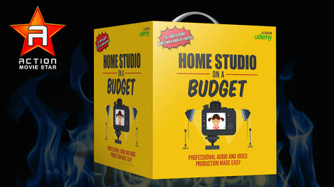 Home Studio on a Budget - 2 - Action Movie Star TV