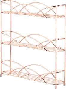 Free Standing & Wall Mounted Spice and Herb Rack - Copper