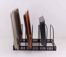 Load image into Gallery viewer, Wholesale Kitchenista Adjustable Bakeware/Baking Tray and Chopping board Rack Holder