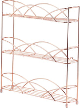 Load image into Gallery viewer, Free Standing & Wall Mounted Spice and Herb Rack - Copper