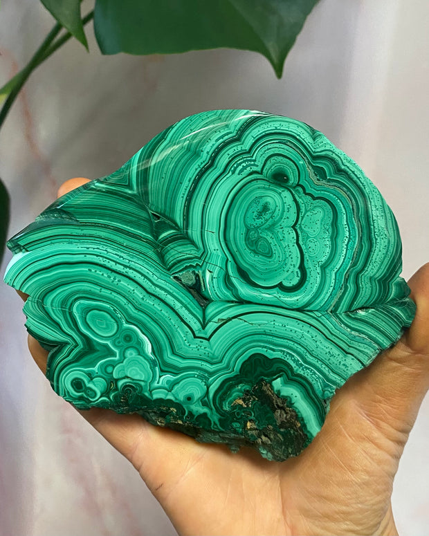 XL Malachite Slab #1