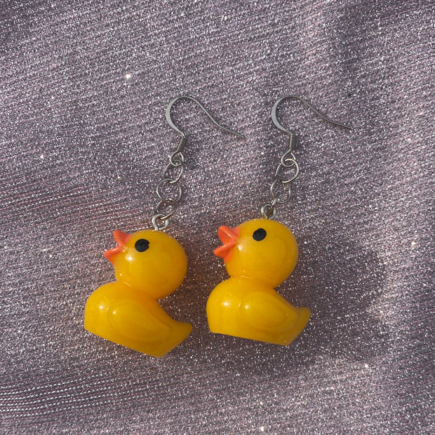 Rubber Duck Earrings