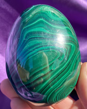 XL Malachite Egg #1 {1.57 lbs}