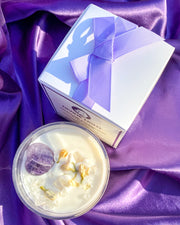 Divine Light Crystal Candle