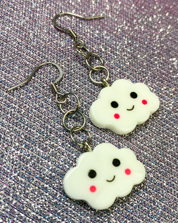 Face Cloud Earrings