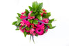 Pink Roses and Pink Gerberas Plush Bush Bouquet BloomsyBox.com