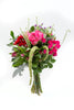 Fond Feelings Pink Roses Red and Pink Gerberas Bouquet BloomsyBox.com