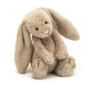 Sitting Jellycat Beige Bashful Cute Bunny Soft Toy
