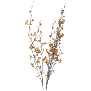Russet Flower Branch Spray