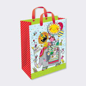 Rachel Ellen Designs children's gift bag animals