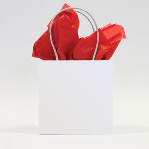 Belly Button Bubble Tissue Paper - Plain Red