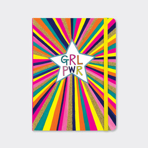 Rachel Ellen Designs Children's Notebook - GRL PWR Starburst