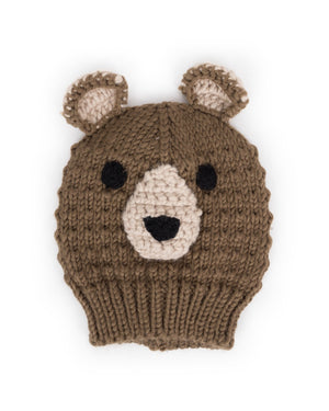 Powder Toddler Bear Hat