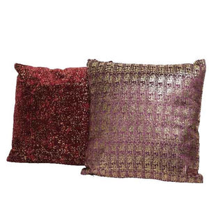 Velvet Foiled Cushions