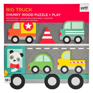 Chunky Wooden Puzzle - Big Truck