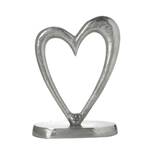 Parlane Open Silver Heart Ornament - Small