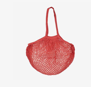 Bags & Co Eco Cotton Mesh Bag - Coral