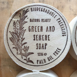Bathing Beauty Green & Serene Soap