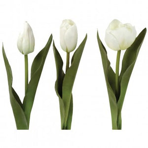 Faux Tulip White (Assorted)