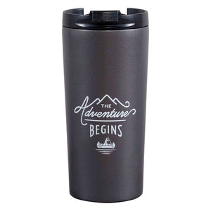 The Adventure Begins Travel Coffee Press