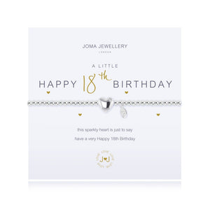 Joma Jewellery Happy 18th Birthday Bracelet