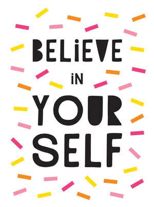 Believe In Yourself (White Cover) Book