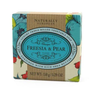 Naturally European 150g Soap - Freesia & Pear