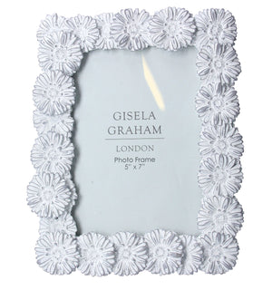 "Daisy Resin Picture Frame 5""x7"""