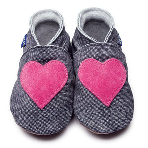 Love Denim Handmade Baby Shoes