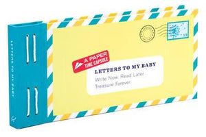 Letters To My Baby Book