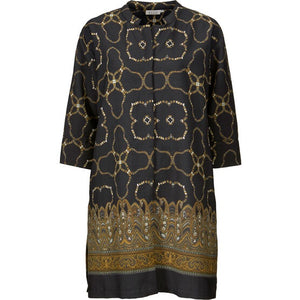 Masai Nimes shirt dress 3/4 Sleeve - length 92 441701 GINGER ORG