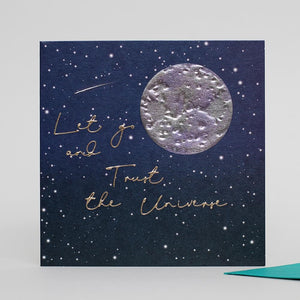 Trust The Universe Greeting Card