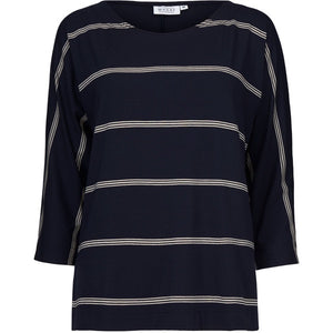 Masai Bluma Top - Navy Stripe
