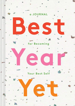 Best Year Yet Book  : A Journal New Year Resolutions