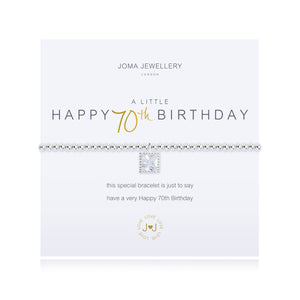 Joma A Little - Happy 70th Birthday Bracelet
