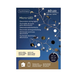 Micro LED Cluster Lights - Stars
