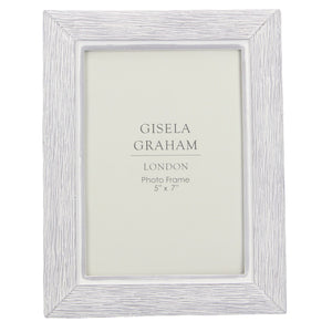 Grey Resin Wood Effect Picture Frame