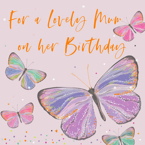 Birthday Butterfly Greetings Card