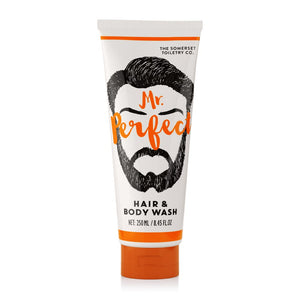 Mr Perfect Mens Hair & Body wash 200ml Tube